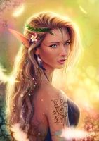 Forest Elf by Emeraldus