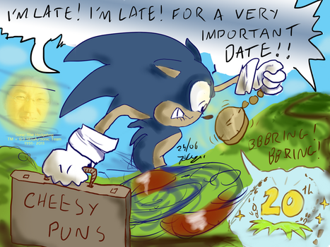 Belated 20th Sonic Picture by xychojack