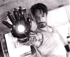 Pencil Ironman by artechx