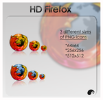 HD firefox icon by nanatrex