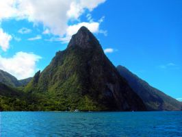 The Pitons by RB93