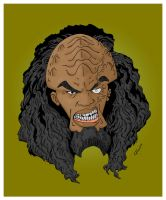 Savage Klingon - color by RobotGorilla