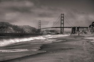 The Golden Gate - HDR by aeroartist