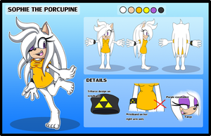 Sophie Reference Sheet .:Commission:. by Pendulonium