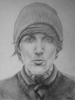 Oliver Sykes by leeinanimus
