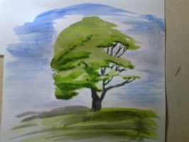 a tree by anime2008