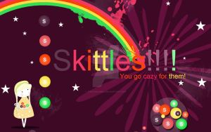 Skittle World by thesashabell