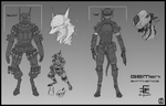 GEMeni Synthetic Sketches by Zaeta-K
