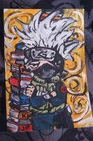 Chibi Kakashi by lightningstrikeart