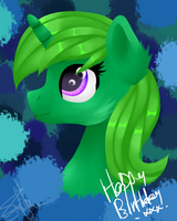 Bday Lime by SaturnStar14