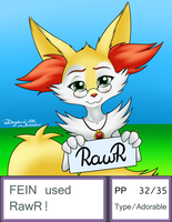 Gift: Fein used Rawr by Mancoin