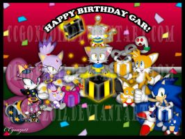 Contest: Gar's B-day by CCgonzo12
