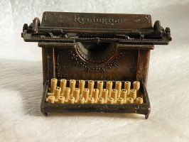 Typewriter 1 by ArtbyValerie