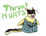 Throat Hurts by shadowthecat971