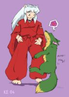 Neon loves Inuyasha by Muddpuppy