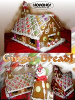 Ginger Bread Christmas House by littlemisskirby