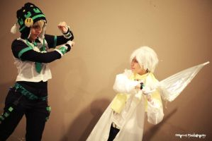Clear and Noiz - Dramatical Murder 10 by Woshii
