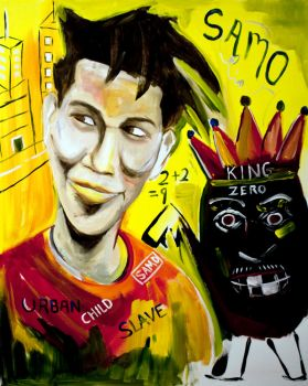 Basquiat and King Zero by kengriffin
