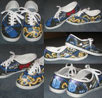 Doctor Who Shoes by Yellowneoy