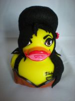 Amy Winehouse Rubber Duck by Oriana-X-Myst