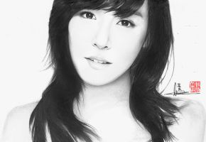 SNSD- TIFFANY DRAWING by WilliamTin