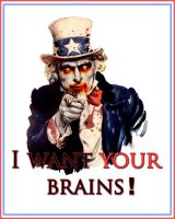 Uncle Sam Wants Brains by Danix54