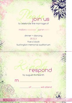 MW Reception + RSVP_Perforated by mrsPella