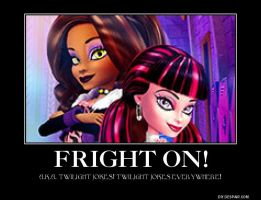Monster High Wednesday#2: Fright On! by T-mack56