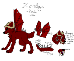 Zendayas ref by iW-O-L-F
