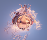 Battleship Bay - Little Planet 1 by 2900d4u