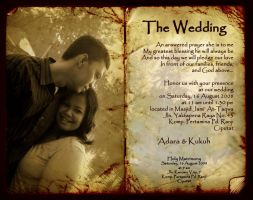 Digital Wedding Invitation by hyposchizzer