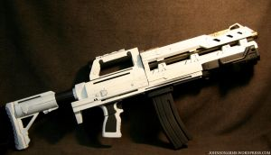 The Beast Heavy Gunner Rifle 2 by JohnsonArmsProps