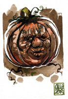 One Eye Pumpkin by alex-illustrateur