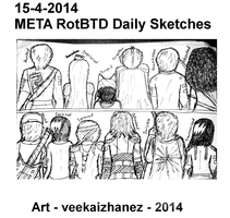 META RotBTD 2014 Daily Sketch 4-15 by veekaizhanez