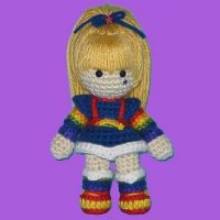 Amigurumi Rainbow Brite by ShadyCreations