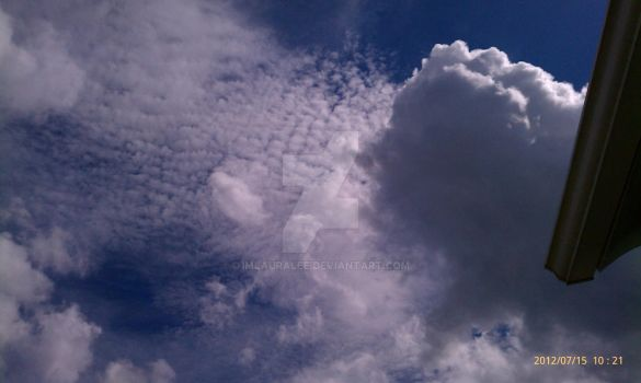 beautiful clouds by ImLauralee