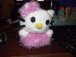 Hello kitty amigurumi. by Amigurumi-Lover