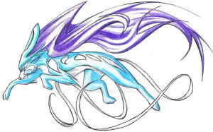 suicune revamped by kyuubifred