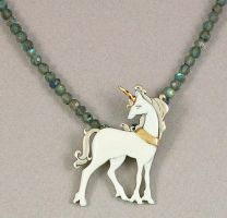 The Last Unicorn by KellyMorgenJewelry