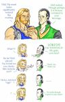 Thor and Loki - The drink of the gods! by puking-mama