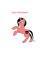 poneederpadopts free adoptable Tauro blackheart by bloostormbrony