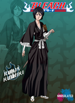 Rukia Kuchiki by niniisolated