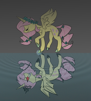 The Everfree Rises : Nightmare Shy AU by Fortissim0