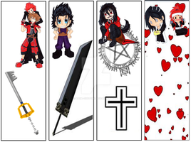 bookmarks for sale by Baka-customs