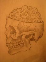 skull study by sexgrins26