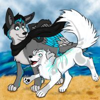 Summer Fun! [Koda and Poofers] by SuperSecret