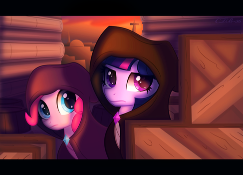 What are they saying? by CTB-36