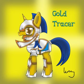 MLP OC - Gold Tracer by BrightDrive