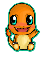 Chibi Charmander by IcyPanther1