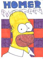 Homer Simpson by Toad-x-Yoshi-x-Peach